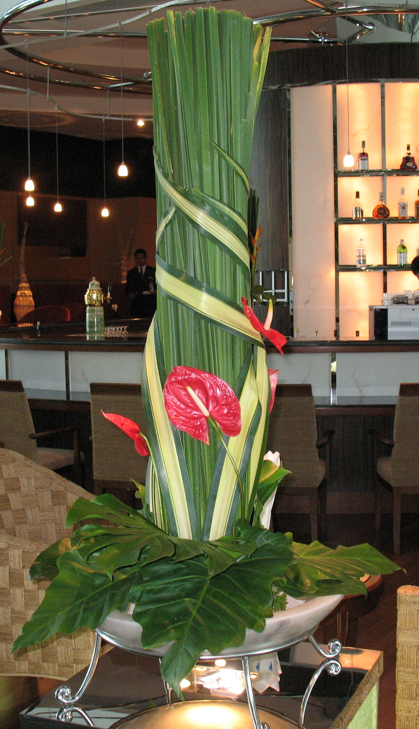 Flowers for Restaurants in Orlando and Miami, Florida