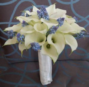 ramo de novia con mini callas