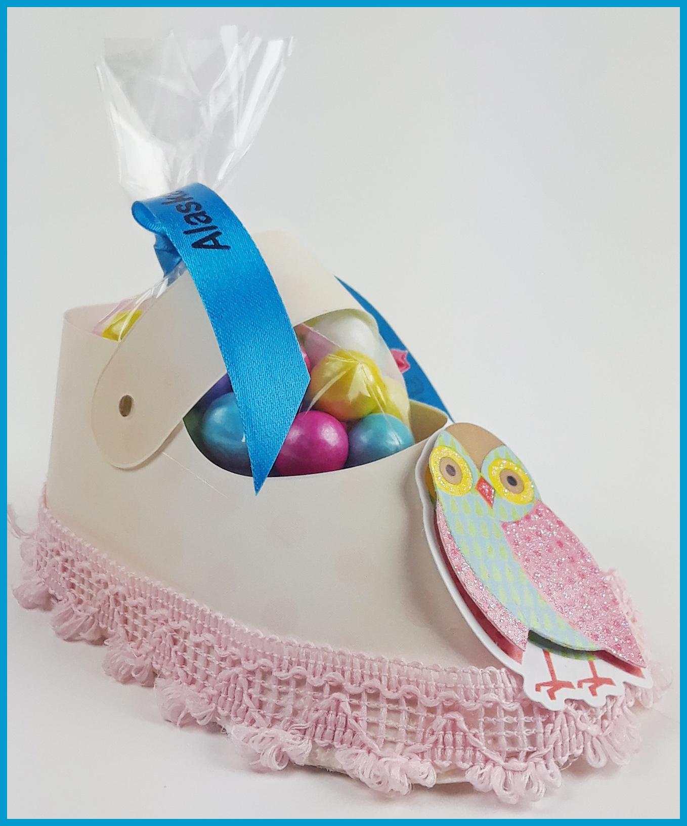 Owl Girl Baby Shower Favors - Au Bouquet-3427